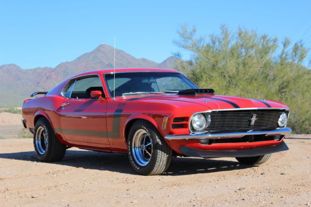 1970 Ford Mustang Boss 351 Re-Creation