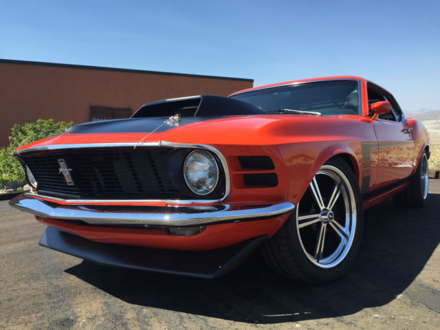 1970 ford mustang boss 429 restomod pro touring w kaase 529 stroker for sale photos. Black Bedroom Furniture Sets. Home Design Ideas