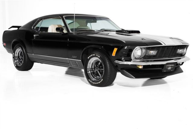 1970 Ford Mustang Cobra Jet 428 Ram Air 4 Speed