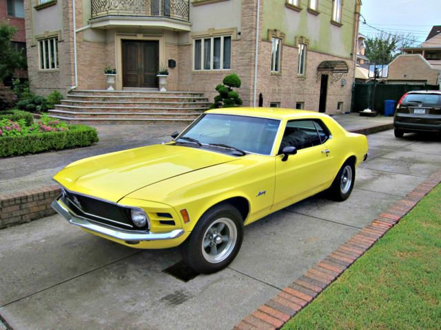 1970 ford mustang full frame restoration super clean - Mustang Frame