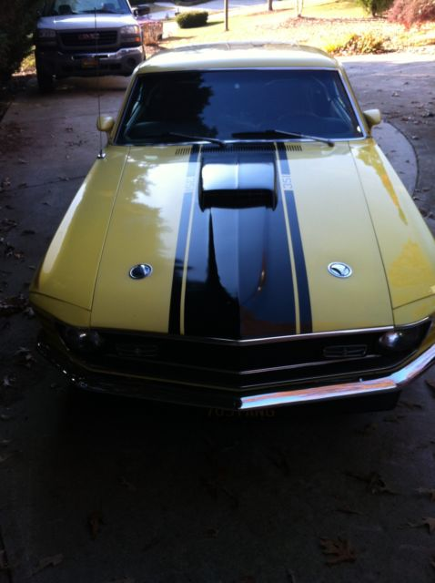 1970 Mustang Fastback 351 Cleveland For Sale