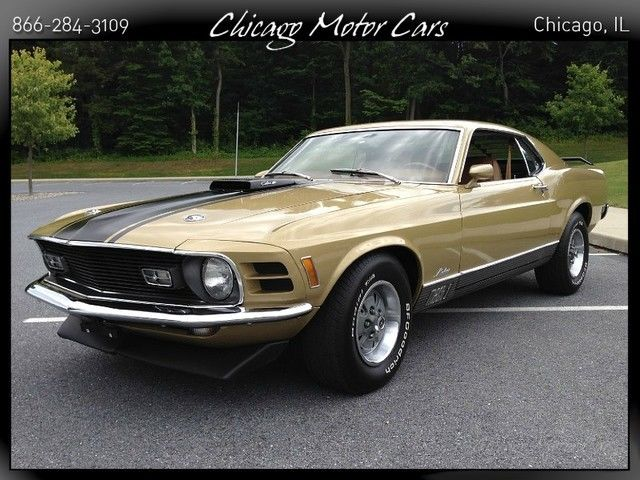 1970 Ford Mustang 2dr Fastback