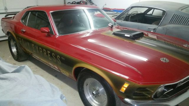 1970 ford mustang mach 1 fastback 2 owner shaker vintage drag car red 351 4 spd for sale photos. Black Bedroom Furniture Sets. Home Design Ideas