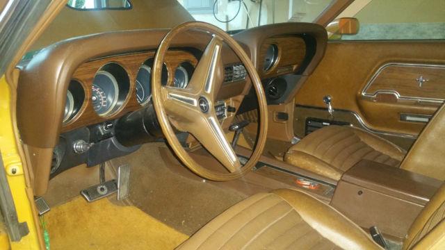 1970 Ford Mustang Mach 1 California Desert Car For Sale: 1970 Ford Mustang Mach 1 Fastback 351 Cleveland For Sale