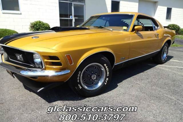 1970 Ford Mustang MACH ONE 351 Fastback