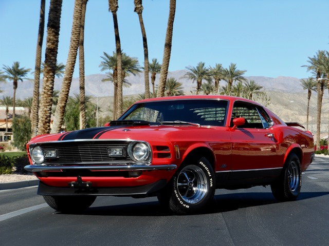 1970 Ford Mustang 428 SHAKER 4 SPEED NO RESERVE