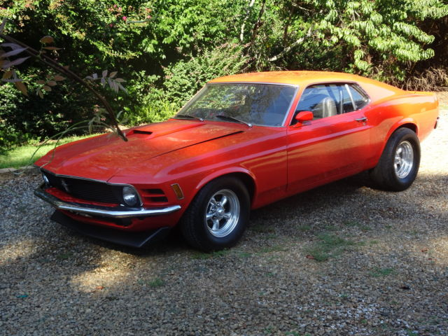 1970 Ford Mustang Sports Roof (Fastback)