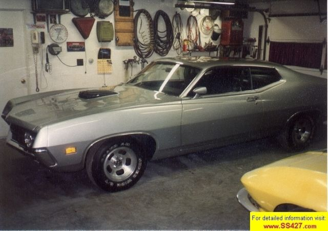 1970 Ford Torino 2DR SPORTSROOF Fastback With Built-in Rear Spoiler