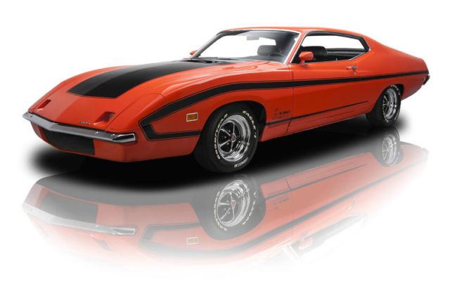 Ford Torino King Cobra  Miles Orange Hardtop  Speed Manual