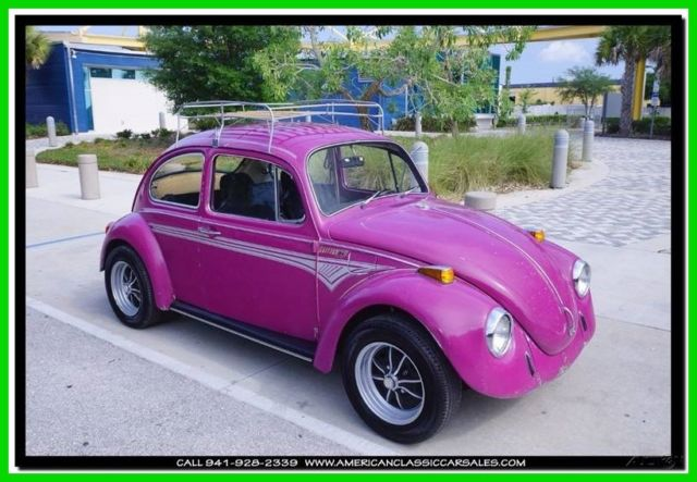 1970 Volkswagen Beetle - Classic Glitter Bug Special Edition