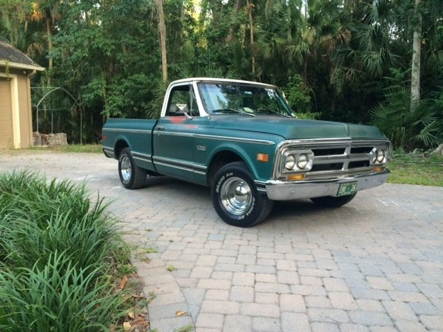 1970 gmc shord bed pickup truck c 10 patina small block v 8 for sale photos technical. Black Bedroom Furniture Sets. Home Design Ideas