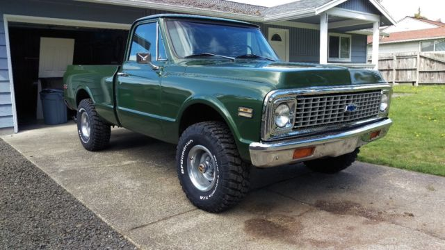 1970 gmc short bed k10 with chevy grill and tailgate for sale photos technical specifications. Black Bedroom Furniture Sets. Home Design Ideas
