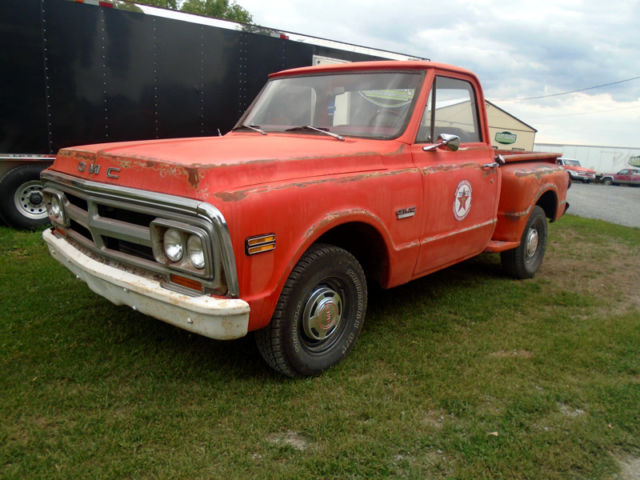 1970 GMC C10 Short Box Step Side Truck