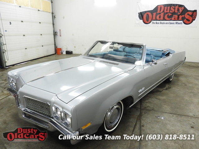 1970 Oldsmobile Ninety-Eight Runs Drives Body Int VGood 455V8 Auto Convert