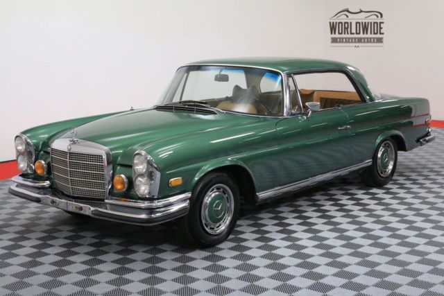 1970 Mercedes-Benz 280SE RARE COUPE