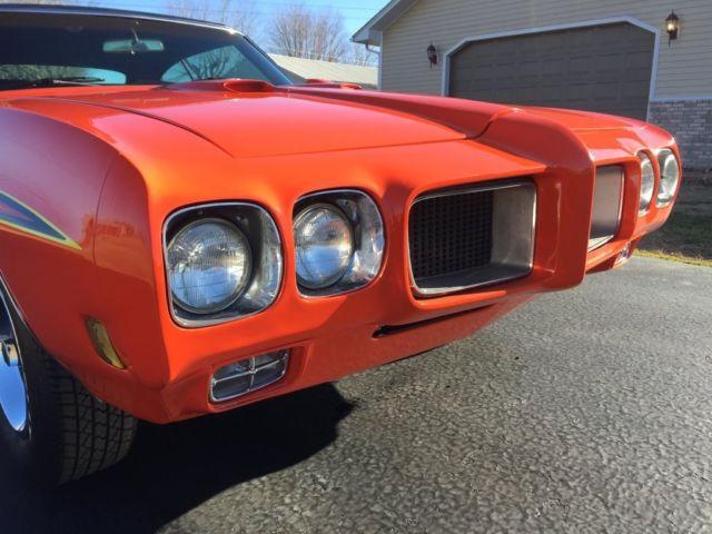 1970 Gto Judge Tribute 455 High Performance Pontiac Lemans For Sale Photos Technical
