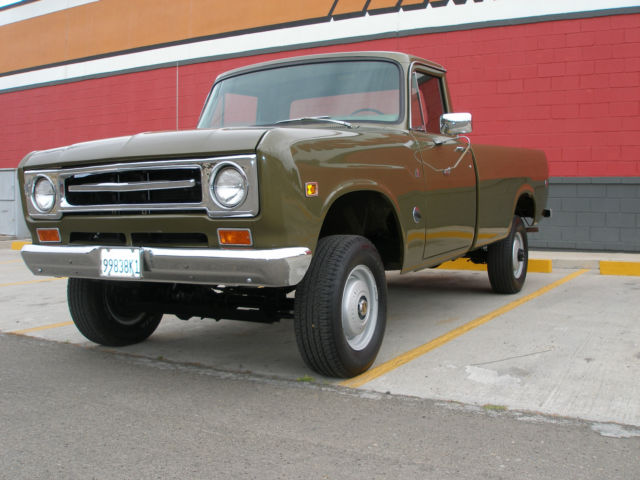 1970 INTERNATIONAL HARVESTER 1200 4X4 PICKUP for sale