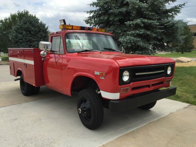 1970 International Harvester 1300D All Wheel Drive DRW