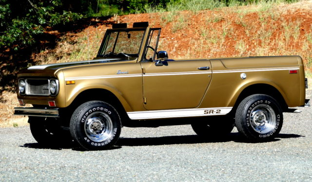1970 International Harvester Scout SR-2