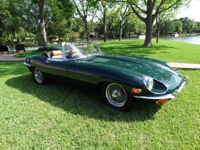 1970 Jaguar E-Type Leather