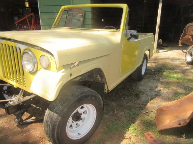 1970 Jeep Jeepster Commando - Project for sale: photos ...