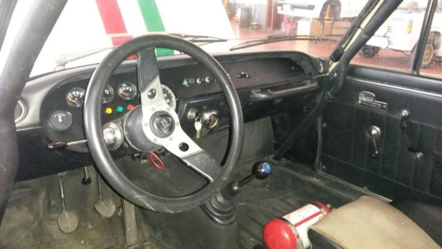 1970 Blue Lancia Fulvia Coupe with Black interior