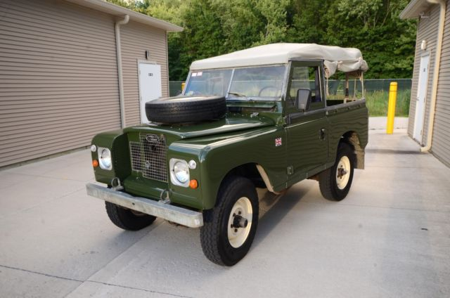 1970 land rover 2a diesel matching numbers original rare opportunity for sale photos. Black Bedroom Furniture Sets. Home Design Ideas
