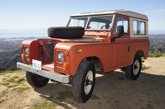 1970 Land Rover Series 2a, SIIa