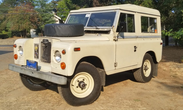 1970 land rover series late iia 88 like defender safari i ii iii for sale photos technical. Black Bedroom Furniture Sets. Home Design Ideas