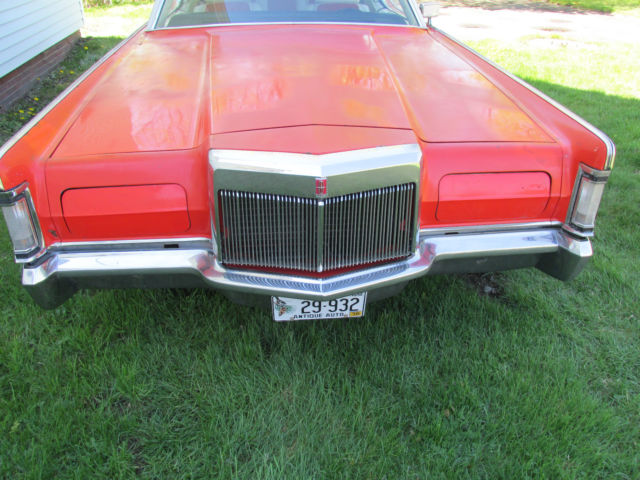 1970 Lincoln Continental 2 door
