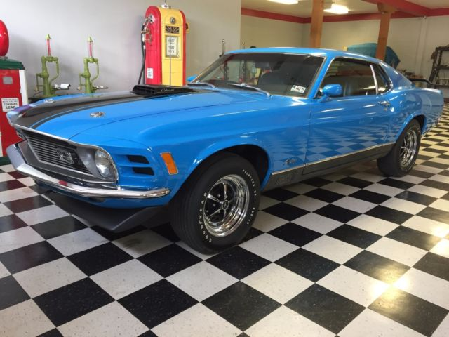 1970 Ford Mustang Mach 1 428 SCJ 4/speed W/Drag Pack