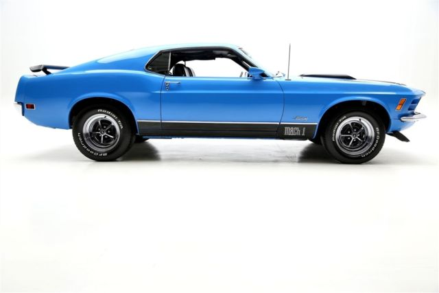 1970 Ford Mustang Mach I Grabber Blue