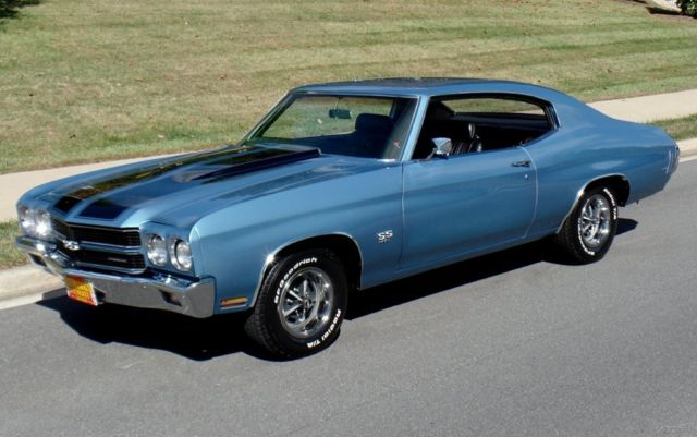 1970 Chevrolet Chevelle Matching Numbers Super Sport