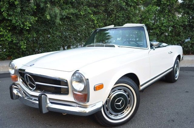 1970 mercedes 280 sl convertible hard soft tops air super clean for sale photos. Black Bedroom Furniture Sets. Home Design Ideas