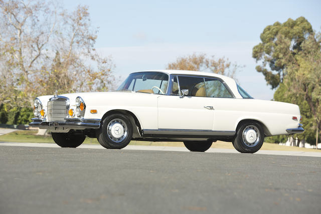 1970 Mercedes-Benz 200-Series 280SE Coupe Low Grill floor Shift / AC