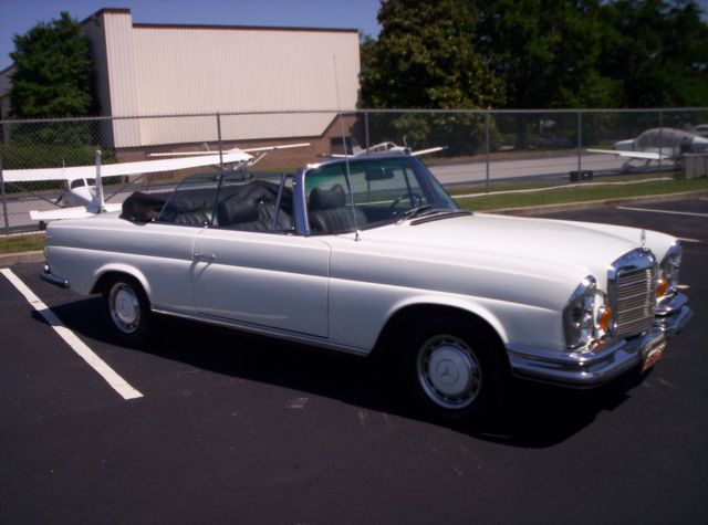 1970 Mercedes-Benz 200-Series 280SE 3.5 CABRIOLET