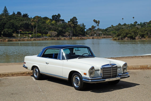 1970 Mercedes-Benz 200-Series 280SE Low Grill Sunroof Coupe