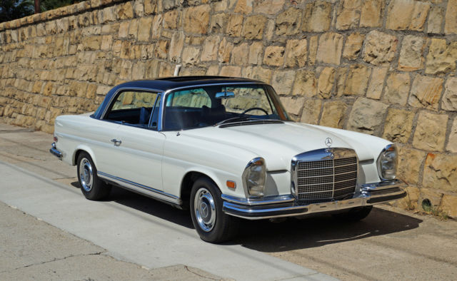 1970 mercedes benz 280se low grill sunroof coupe floor for Low price mercedes benz