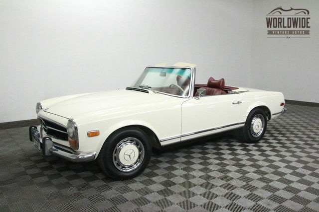 1970 Mercedes-Benz 280SL ROADSTER. TWO TOPS. STUNNING! RARE!