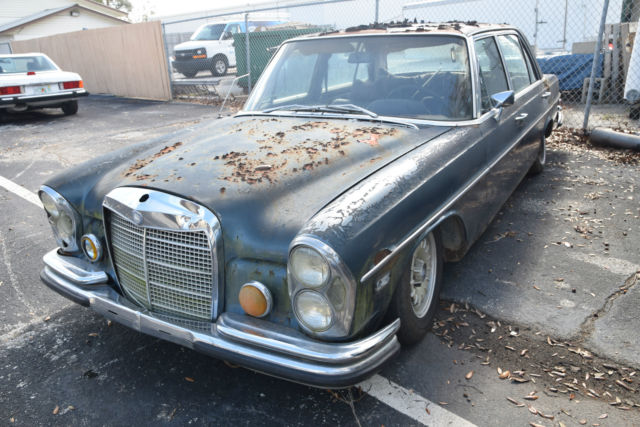 1970 mercedes benz 300sel 6 3 sunroof no reserve excellent