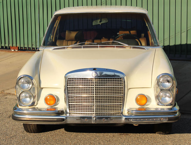 1970 Mercedes-Benz 200-Series 280 S, California Car, No Reserve, Needs tlc