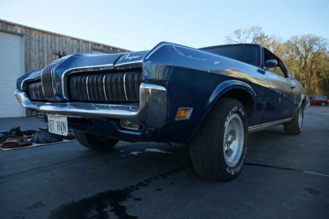 1970 Mercury Cougar XR-7