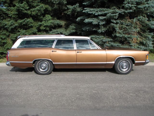 "1970 Mercury Monterey Suberb Original ""survivor"" Minimal Body Rust"