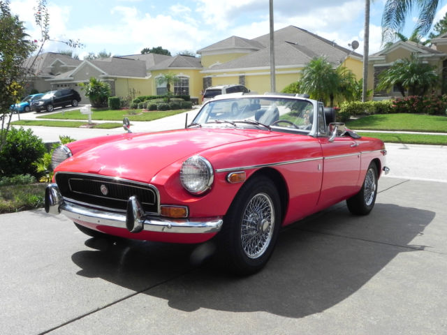 1970 MG MGB Base