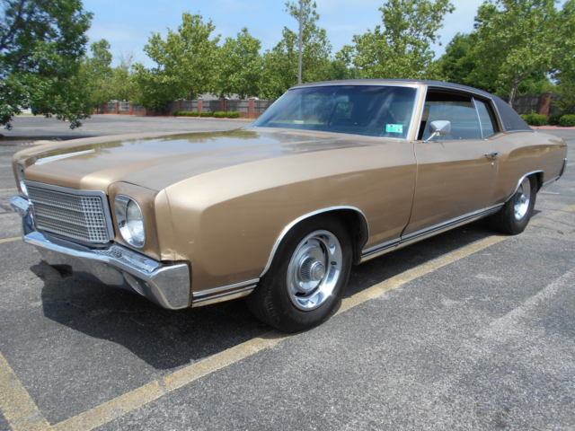 1970 Chevrolet Monte Carlo 755 th car built in 1970