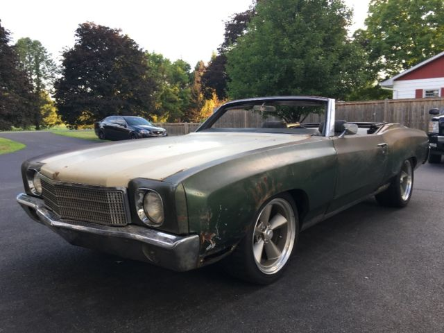 Monte Carlo Convertible Not Ls Chevelle Ss Ls Ls