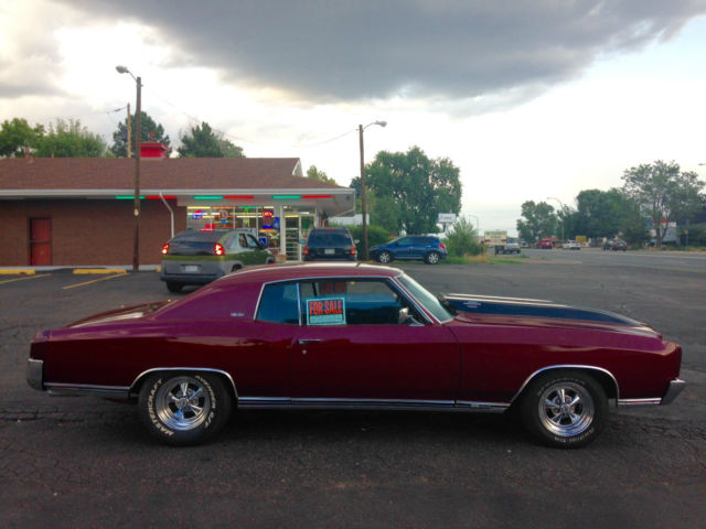 1970 monte carlo ss 454 matching numbers fully rebuilt for sale photos technical. Black Bedroom Furniture Sets. Home Design Ideas