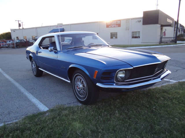 1970 Ford Mustang Base Hardtop 2-Door