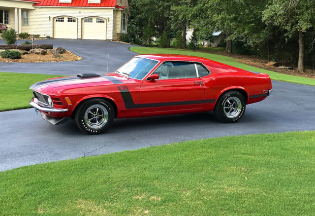 1970 Mustang Boss 302 W Code 4 30 Drag Pack 35 000 Miles High End Restoration
