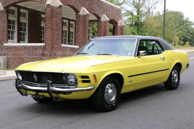 1970 Ford Mustang 2 Door Coupe